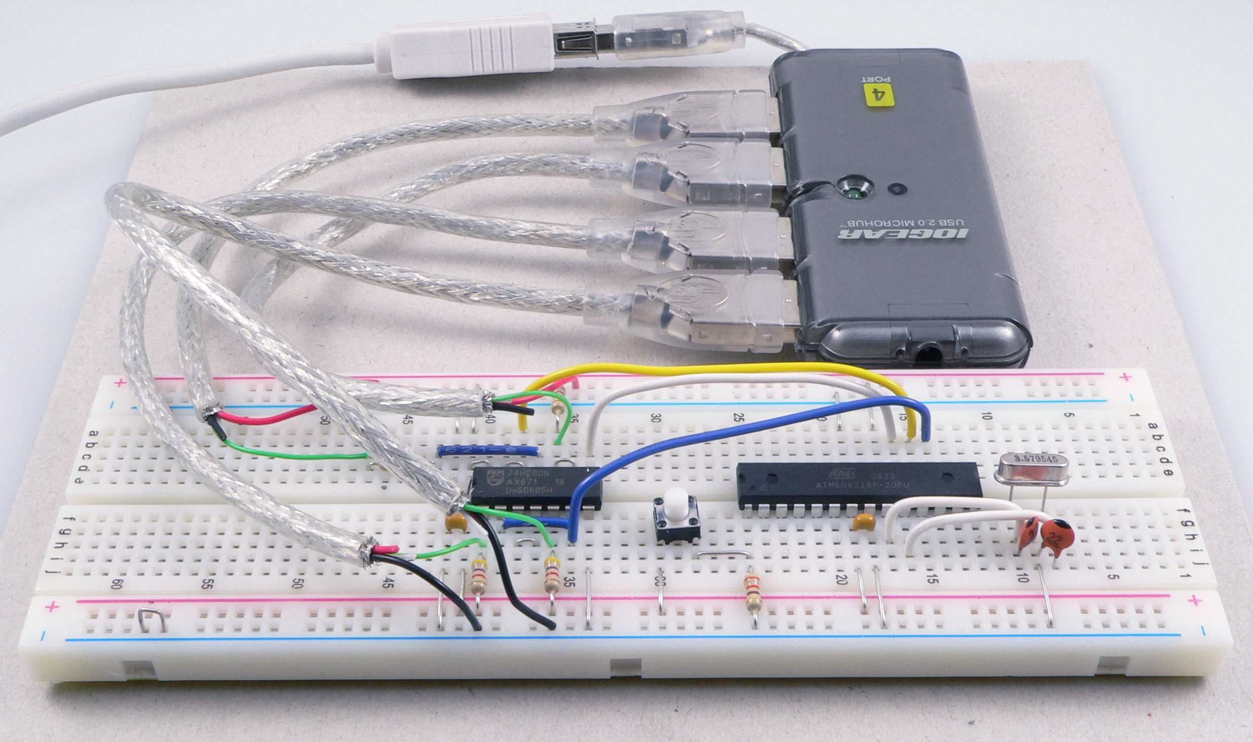 Hub Isp Solving The Usb Only Chicken Or Egg Problem 1 Wire Schematic High Resolution Image Available