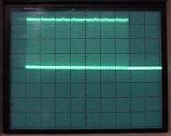Oscilloscope+screen