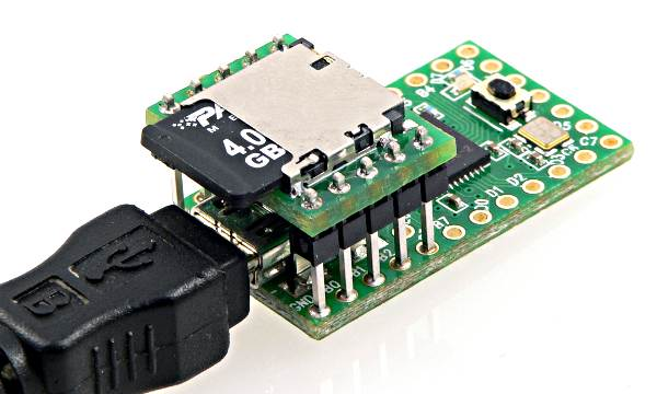 PJRC Teensy SD card adapter