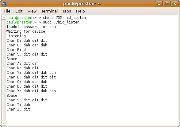 HID Listen program, or simple text debug output with Teensy USB