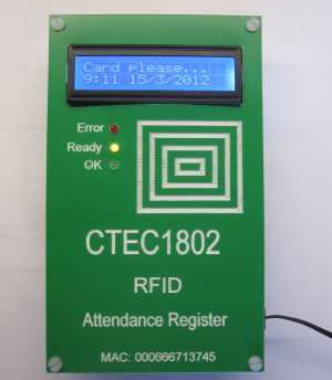 feasibility study of automatic attendance system using rfid