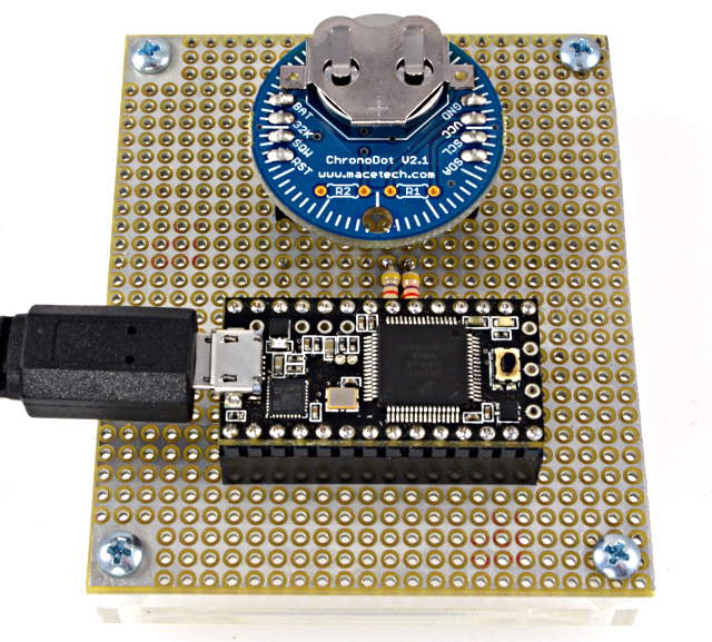 DS1307RTC Library, For Accessing Real Time Clock (RTC) Chips