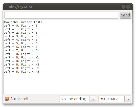 Encoder Library, for Measuring Quadarature Encoded Position
