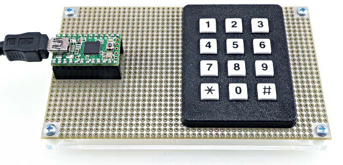 Keypad Library, For Connecting Keypads With Row-Column