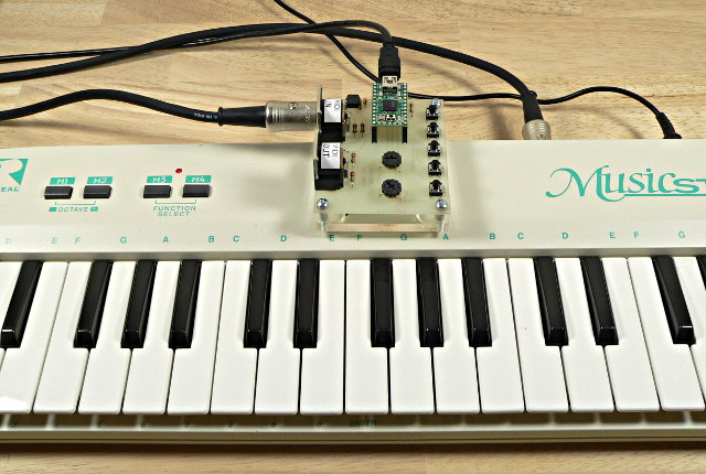 Midi library for communication with musical instruments