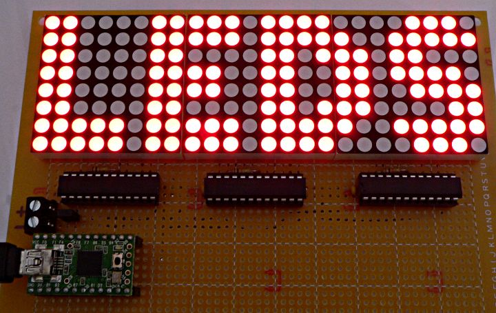 Matrix Amp Sprite Arduino Libraries For A Many Led Display