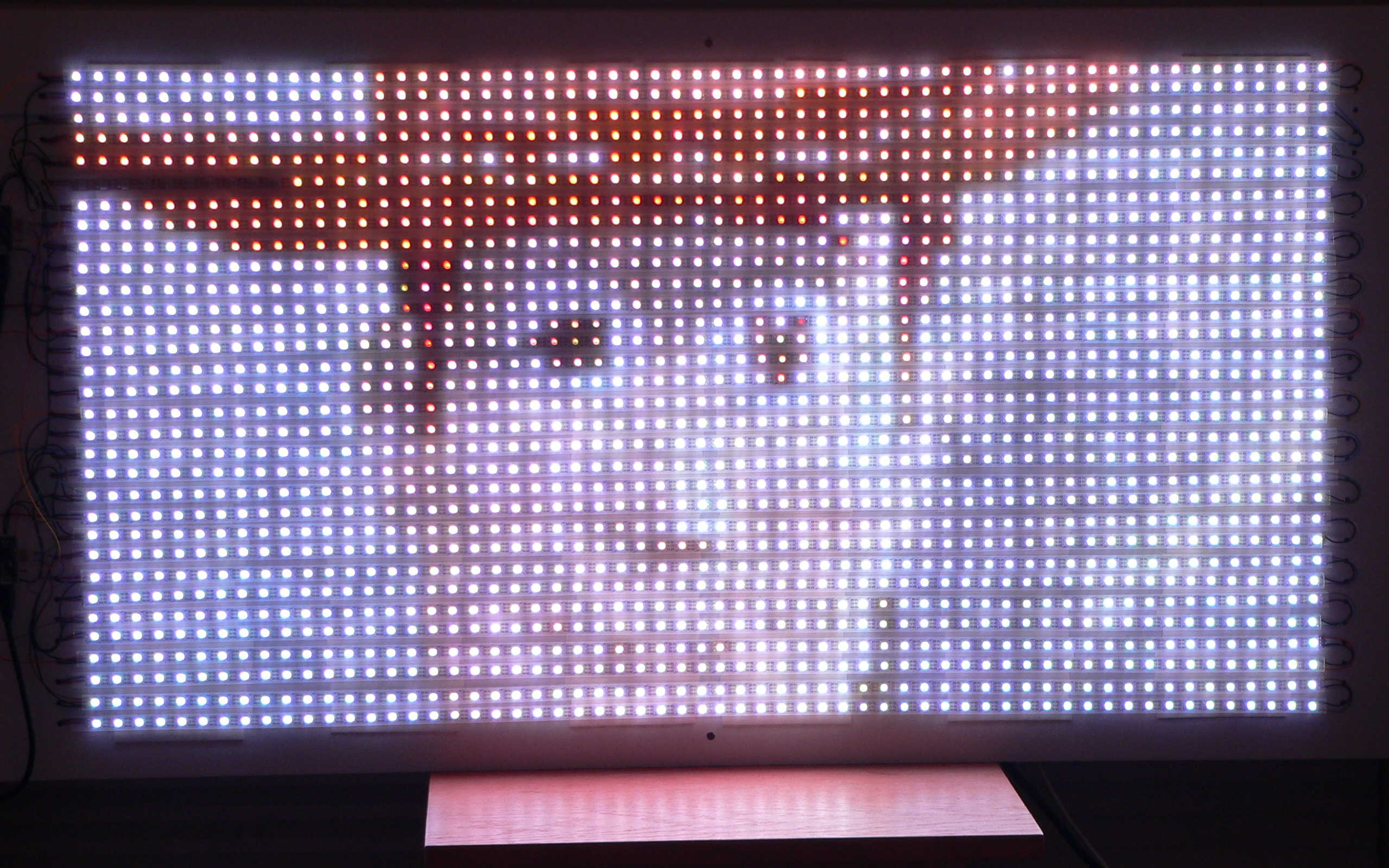 Octows2811 Led Library Driving Hundreds To Thousands Of Ws2811 Leds Drives 10 Actual Display On 1920 View Large Original Image