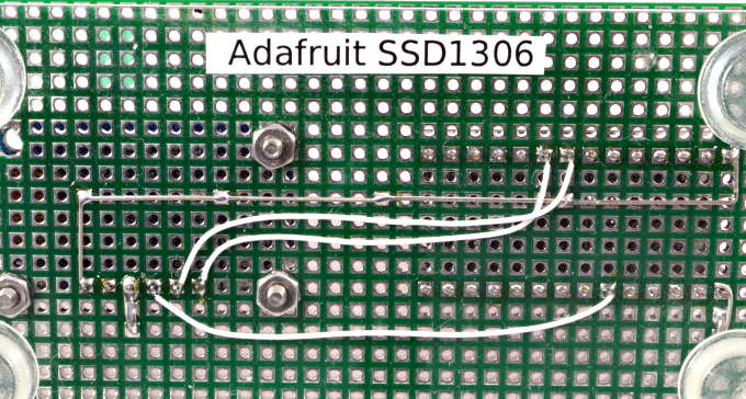 SSD1306 OLED Display Library