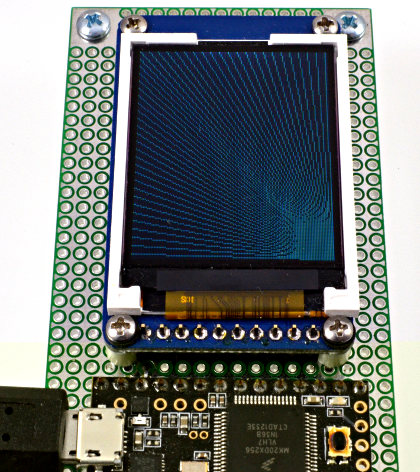 ST7735 Color TFT Display Library