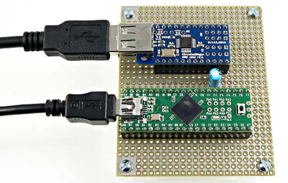 how to connect arduino pro mini to apc
