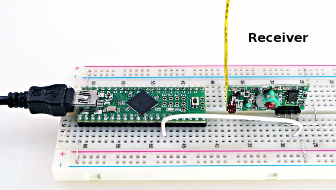 315 MHz RF Link Kit and VirtualWire Library | Hard Copy Arduino