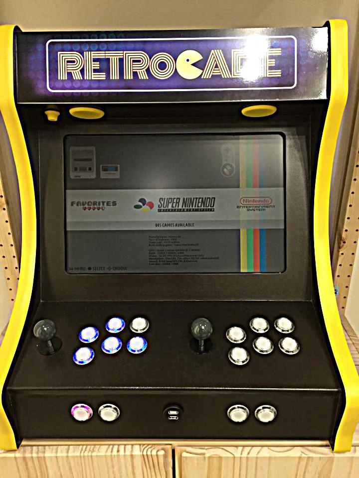 custom arcade machine