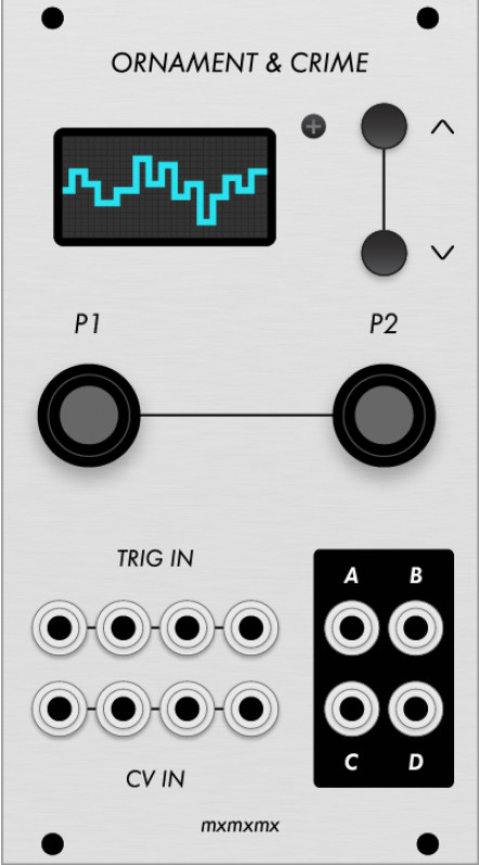 Ornament & Crime Synthesizer Module
