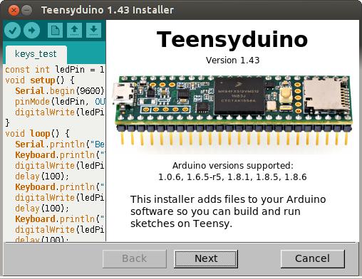 Teensyduino 1 43 Released