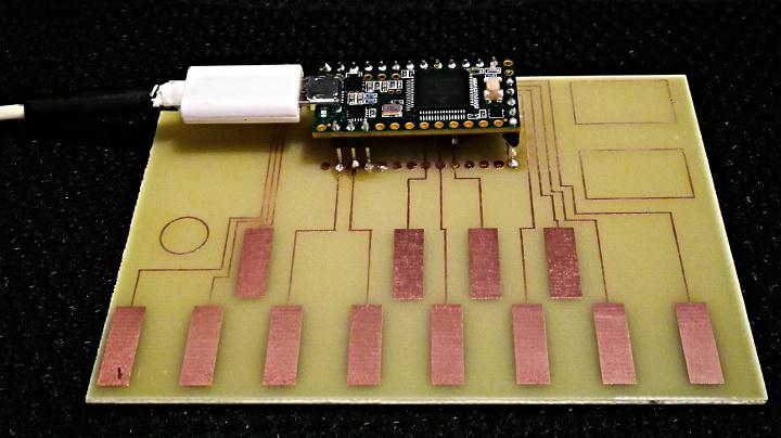 Touch Piano DIY Circuit Board