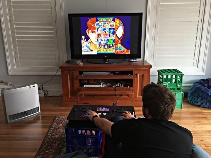 Portable 2 Player Arcade Console